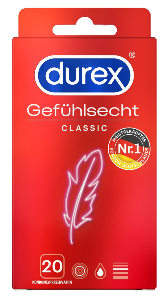 "Kondome ""Gefühlsecht Classic"""