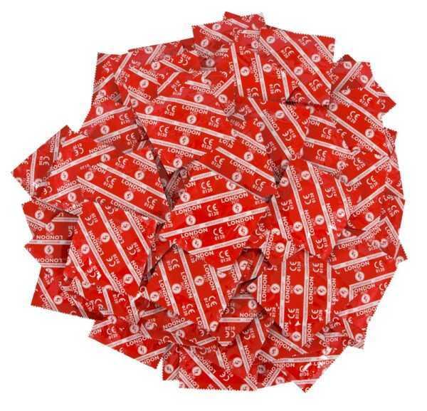 "Kondome ""London Rot"""