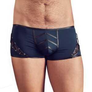 Pants mit seitlicher Schnürung