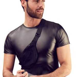 Shirt mit angenähter Tasche