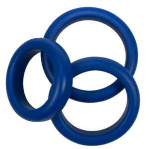 """3-teiliges Penisringset """"Blue Mate"""""""