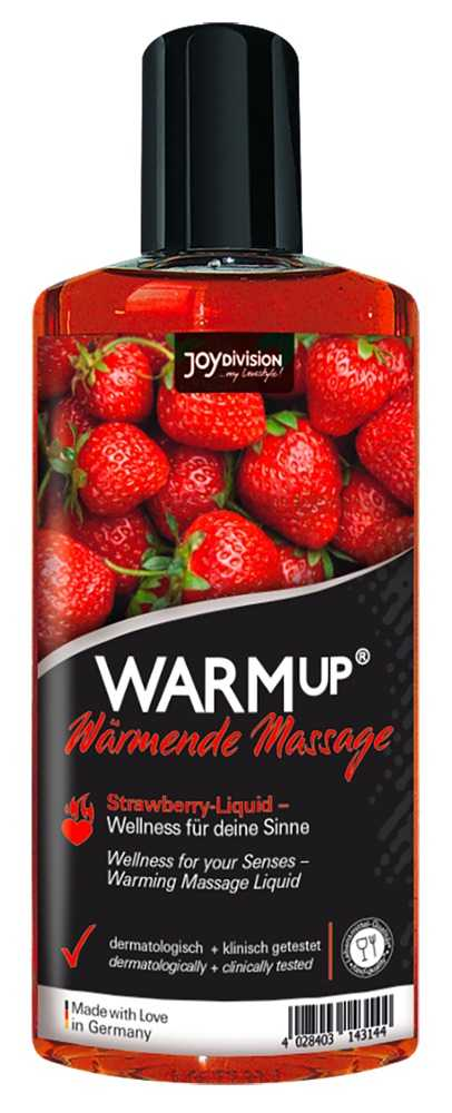 "Massageöl ""WARMup Strawberry"""