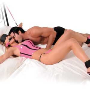"10-teiliges Bondage-Set ""Pink Passion Bondage Kit"""