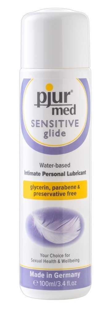 "Gleitgel ""Sensitive Glide"" für sensible Haut"
