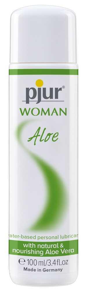 "Gleitgel ""WOMAN Aloe"" auf Wasserbasis mit Aloe Vera"