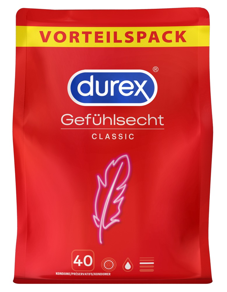 "Kondome ""Gefühlsecht Classic"", transparent"